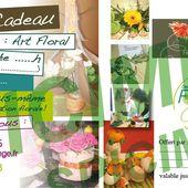 BON CADEAU ATELIER - des Flors et des Idées