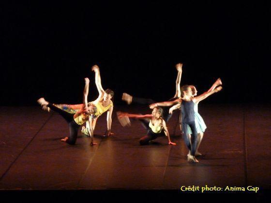 Spectacle de danse 2018 du conservatoire de Gap