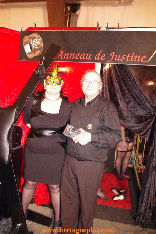 Album 1 du salon de l' Erotisme de Rennes, qui s'est tenue ce samedi 26 et dimanche 27 janvier 2013, au Parc des expositions de Rennes aéroport