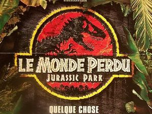 Affiches de Jurassic Park 2 Le monde Perdu et de The Lost World
