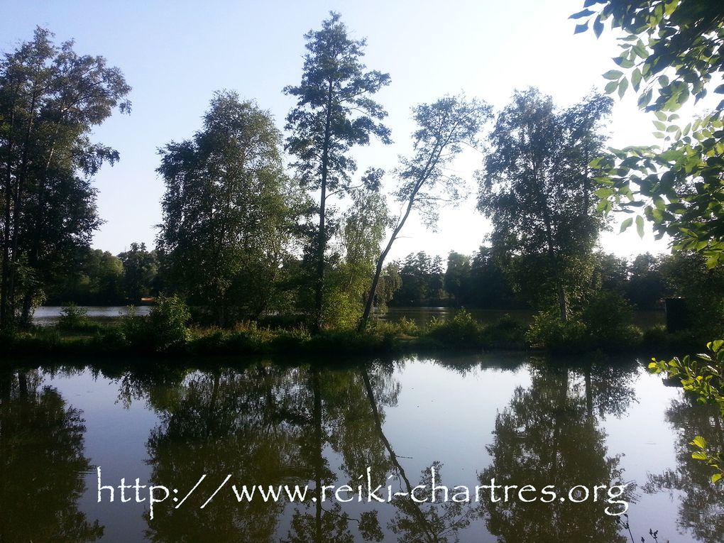 """Atelier """"L'Art de Soi"""" Nature & Découvertes, sur les bords de l'Eure et d'un étang, près de Chartres"""