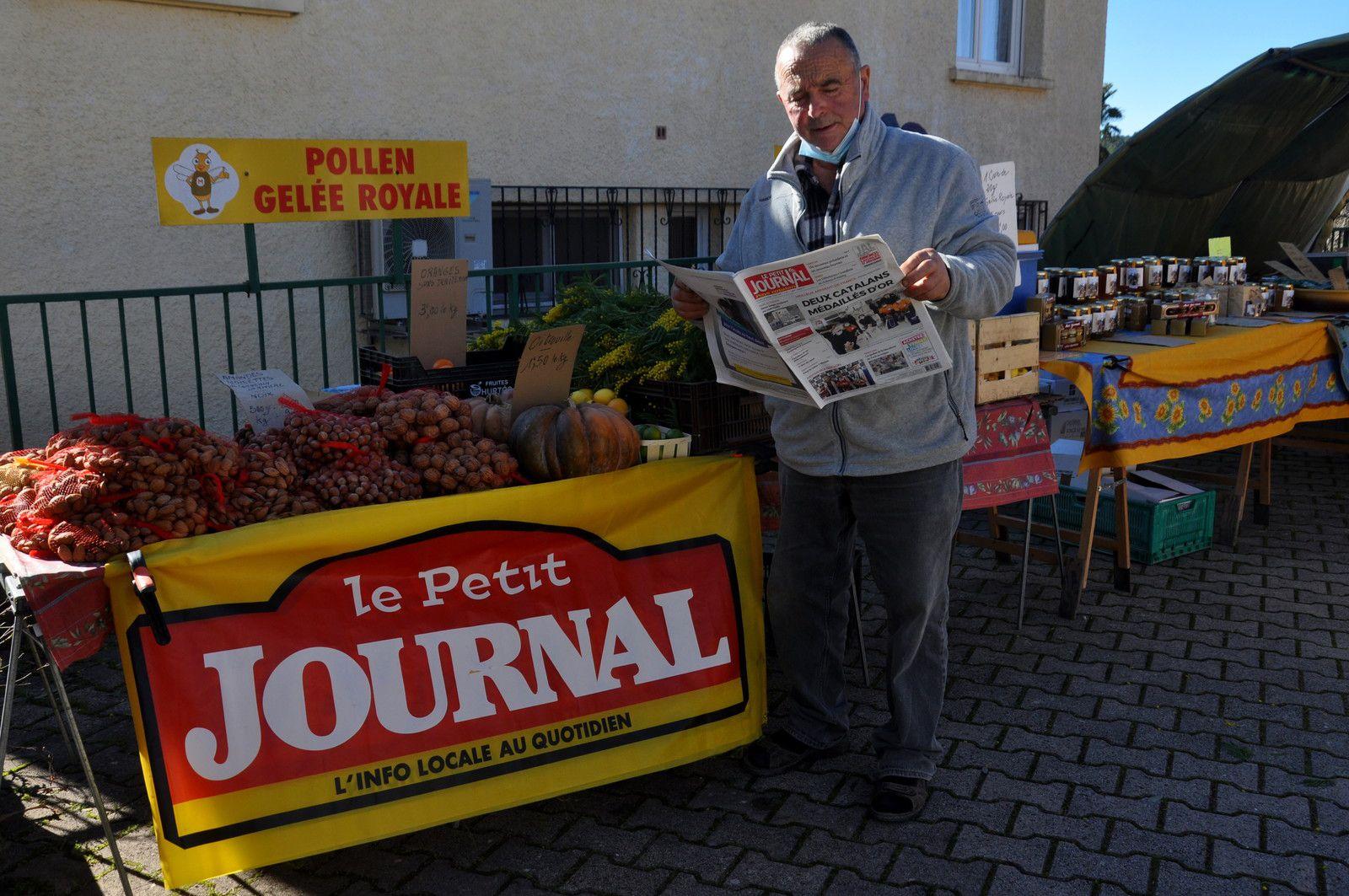Le Petit Journal Catalan à lire comme pour André.