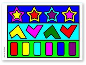 Carnet de Coloriages pour les Vacances Niveau 1