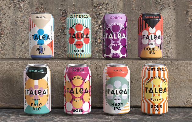 Packaging : Très design, le nouvel emballage de la marque Talea Beer fait très fort