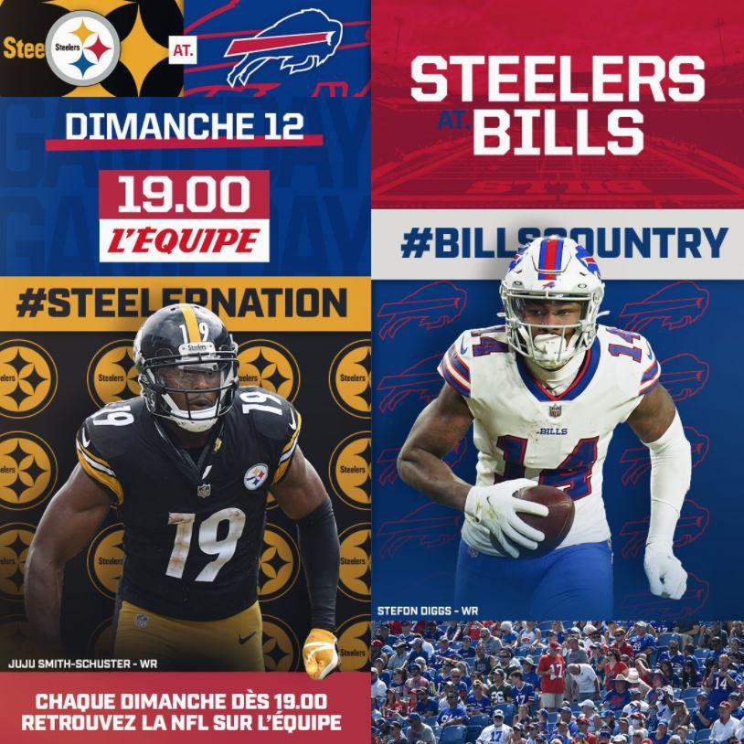 Buffalo Bills / Pittsburgh Steelers : Sur quelle chaîne en clair suivre la rencontre dimanche ?