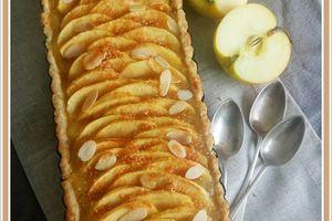 Tarte pommes amandes