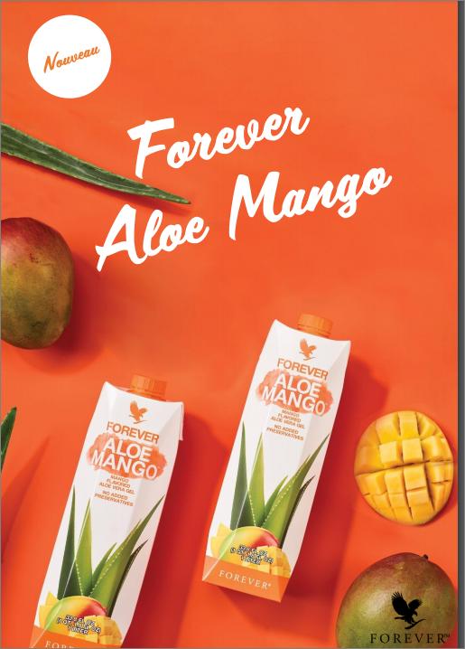 Nouveau gel d'aloe vera à la mangue tropicale : Faites danser vos papilles !