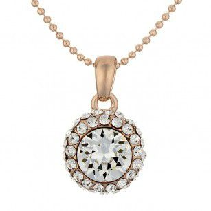 Rose gold plated necklaces online