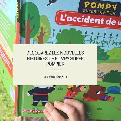 Découvrez les nouvelles histoires de Pompy Super Pompier