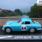 LES MODELES LOTUS ELITE - car-collector.net