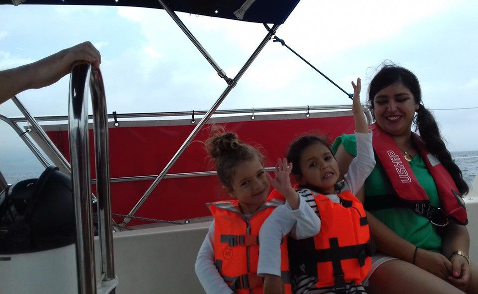 La Sortie en Famille  en Voilier à Hendaye - Côte Basque