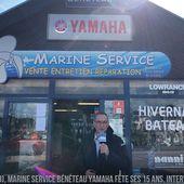 A Douarnenez (29), Marine Service Yamaha Bénéteau fête ses 15 ans - ActuNautique.com
