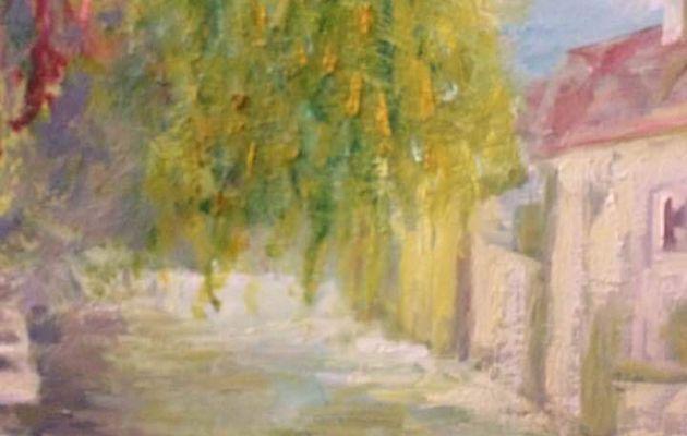 Expo peinture à Ornans, Galerie de l'Atelier de Gustave Lafond