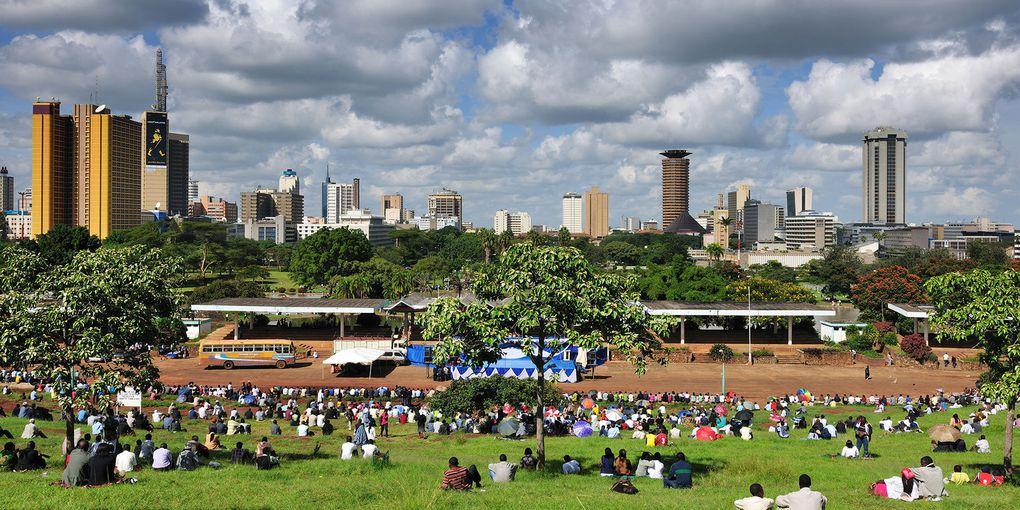 Imágenes de Naïrobi, Kenya.- El Muni.