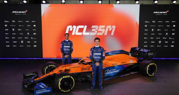 McLaren lève le rideau sur la MCL35M
