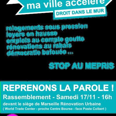 STOP AU MEPRIS : rassemblement le 17 Novembre