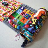 mousehouse: My creative space: a roll up busy book