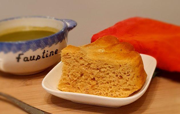 Gâteau au fromage blanc et au thon