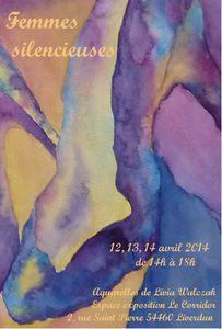 """""""Les femmes silencieuses"""" de Livia Walczak, à l'espace d'exposition du """"Corridor"""", Liverdun (54)"""