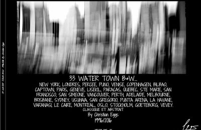 33 WATER TOWN B&W by Christian Eggs
