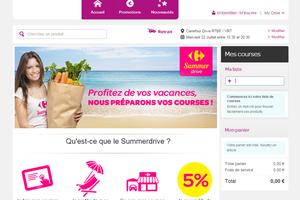 « Bronzez tranquille! Carrefour.be veille sur vous et crée un pop-up drive pour la plage »