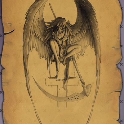 tattoo ange