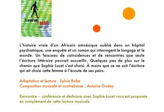 Traverser l'oubli : lecture musicale