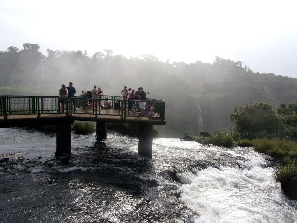 Voyage en Argentine..... Retour aux chutes d'Iguazu