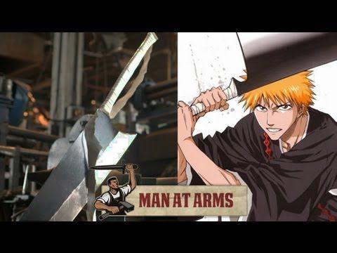 Ichigo's Zangetsu Sword (Bleach) - MAN AT ARMS