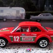 70' FORD ESCORT RS 1600 HOT WHEELS 1/64. - car-collector.net