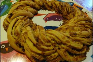 Kringle estonien (couronne briochée)