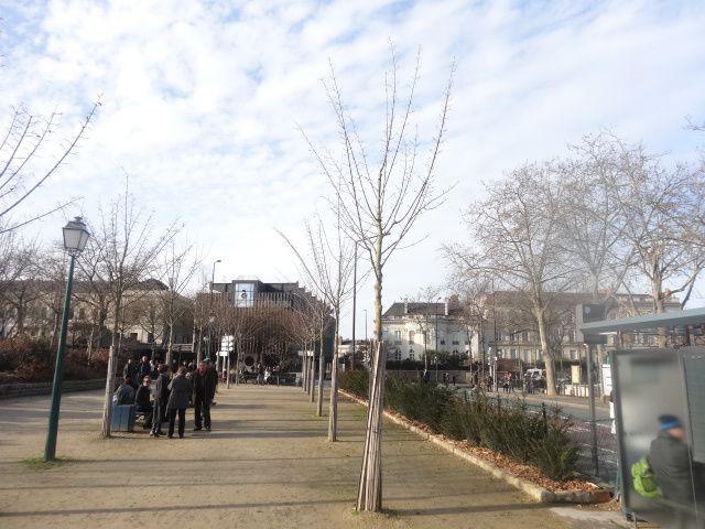 Paysages de la ville d'Angers