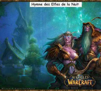 Hymne Elfes de la Nuit