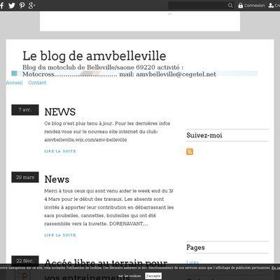 Le blog de amvbelleville