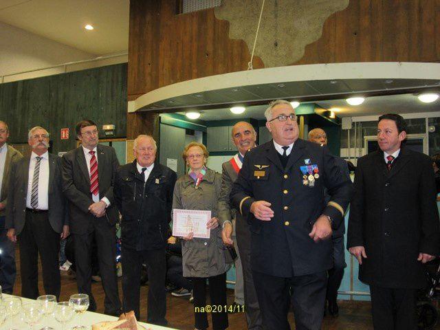 Cérémonie du 96ème Anniversaire de l'Armistice à Neuf-Brisach