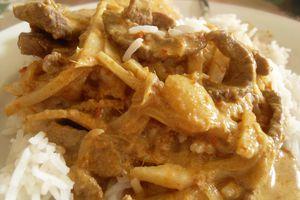 Boeuf au curry Nyonya