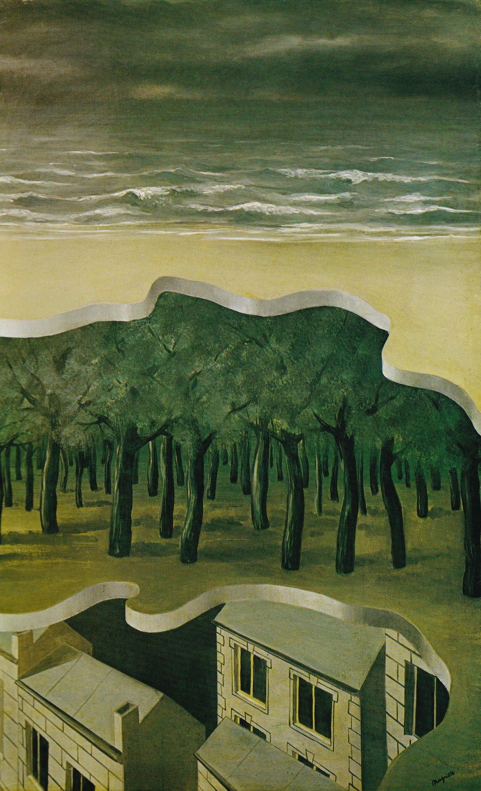 Magritte, Panorama populaire