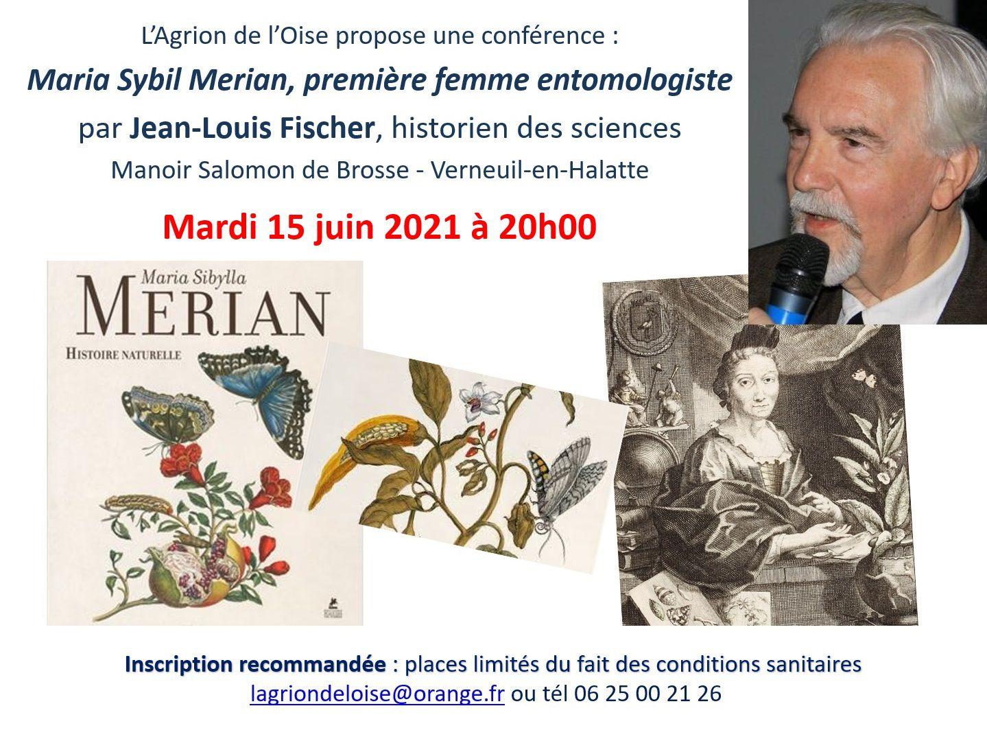 Maria Sybilla Merian, première femme entomologiste, une conférence de Jean-Louis Fischer