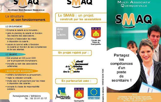 Un poste de secrétariat partagé : le SMAQ