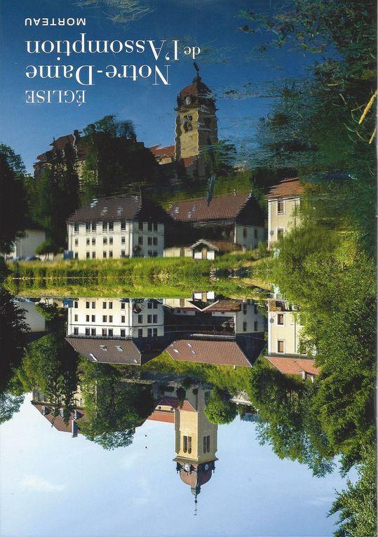 Bannières brodées pour Gigny, Baume, Cluny...: les publications