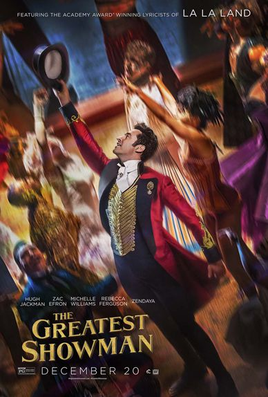 THE GREATEST SHOWMAN, DES AFFICHES LUMINEUSES !