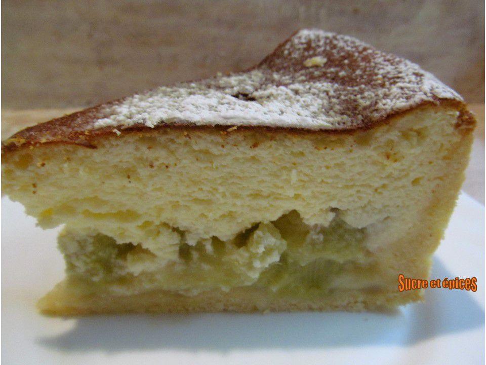 Tarte alsacienne au fromage blanc et rhubarbe (Käsekuchen) - Recette en vidéo
