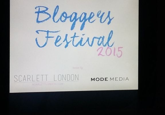 Bloggers Festival London with Scarlett London