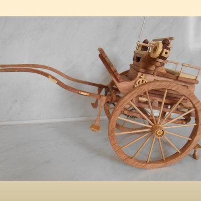 Maquette du Tandem Cart (article 2/2)