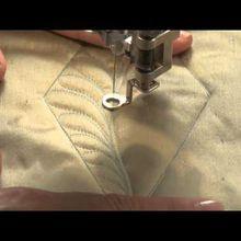 Quilting machine main libre:une vidéo pour aider.