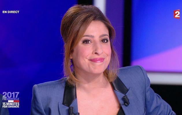 📸5 LEA SALAME @LeaSalame ce soir @France2tv #15minutesPourConvaincre #vuesalatele