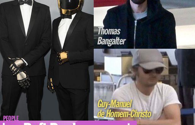 Les Daft Punk voyagent sans leurs casques ! #DaftPunk