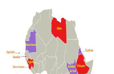 22 pays africains importent leur monnaie d'Angleterre et d'Allemagne.