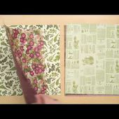 Pressed Petals Specialty Designer Series Paper (French)
