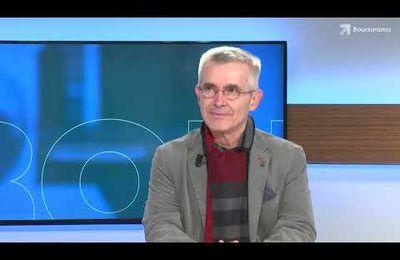 Yves Veyrier, Secrétaire général de FO, dans l'émission « Ecorama » présentée par David Jacquot